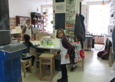 Cours enfant et adulte de céramique à Paris