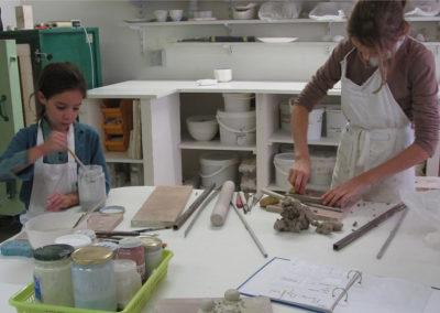 Cours de céramique enfant et adulte de céramique à Paris